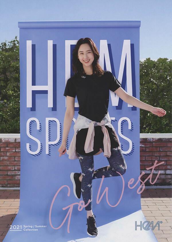 『HeM sports』2021 Spring Summer Collection